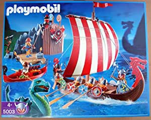 Playmobil 5003 Drakkar Camp Viking