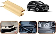 Auto Pearl Car 100% Gap Coverage in Front of, Surrounding & Behind Seat Gap Filler Beige for - Koleos