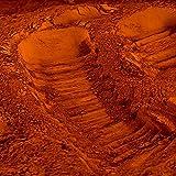 Pigment naturel pour béton et chaux : Terre de Sienne Calcinée - 500g