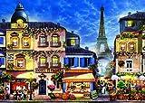 Ravensburger - 13560 8 - Parigi Vintage . Puzzle 300 Pezzi Easy To See & Handle