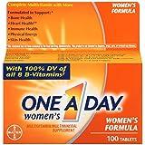 One-A-Day - Femmes Multivitamines Multi-mineraux Supplement 100 Comprimés