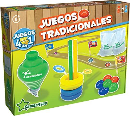 Science4you Juegos Tradicionales, Juguete Educativo y científico (600201)