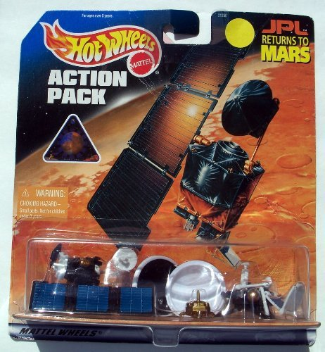 Hot Wheels JPL Returns to Mars 1999 Action Pack Ultra Rare Collectible #21260 by Hot Wheels (Wheels Hot Mars)