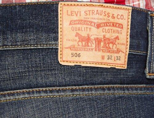 3947cf15f10c Купить Levi s Herren Jeans Normaler Bund Levi s 506 Standard Fit ...