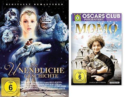 Die unendliche Geschichte + Momo im Set - Deutsche Originalware [ 2 DVDs]