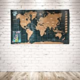 Scratch Off World Map With Scratch Pen