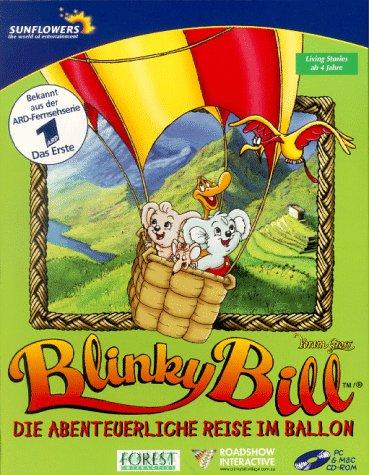 Blinky Bill 2. CD- ROM für Windows ab 3.1, Mac 7.1. Die abenteuerliche Reise im Ballon. Living Stories ab 4 Jahren