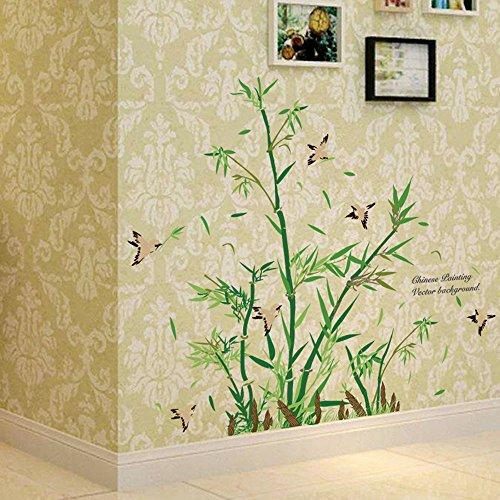 Elecenty Wandaufkleber, DIY Wandkunst Plant Wandtattoo Removable Wandsticker Wall Decal Family Home Sticker Decor Mural Art Fliesensticker (Familie Ideen Halloween Kreis Der)