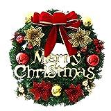 OHQ Weihnachten Dekoration Weihnachtskranz Türkranz 35cm weihnachtsgirlande