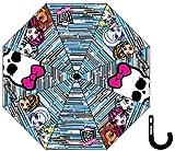 Die besten Monster High Regenschirme - Regenschirm mit Reißverschluss für Kinder/Jugendliche, Mädchen, Monster High Bewertungen
