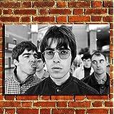 """Oasis Gallagher Leinwand Druck Bild Poster Wall Art klein mittel groß, canvas, 32""""x20"""" (80x50cm)"""