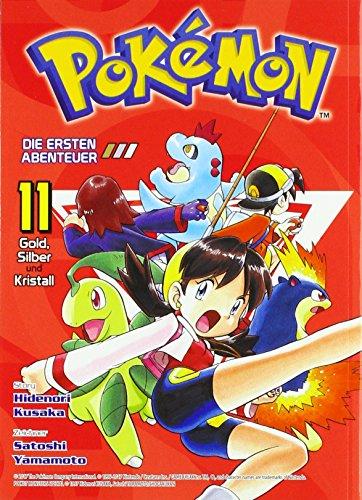 Pokémon - Die ersten Abenteuer: Bd. 11: Gold, Silber und Kristall