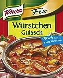 Knorr Fix für Würstchen - Gulasch