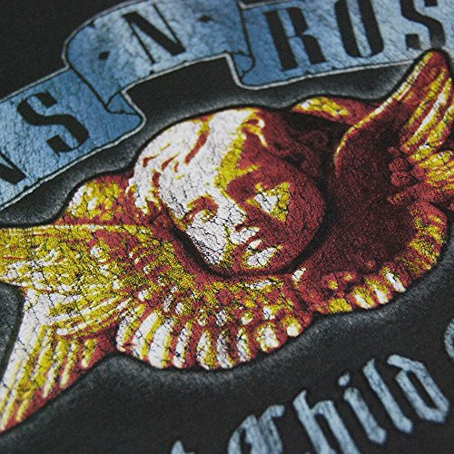 Guns N Roses Camicia Donna - Amplified Sweet Child O' Mine T-shirt Donna Carbone Di Legna