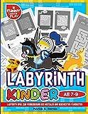 Labyrinth Kinder ab 7-9: Labyrinth spiel zur Verbesserung der mentalen und geschickten Fähigkeiten (Labyrinth Rätsel für Kinder, Band 2) - Patrick N. Peerson