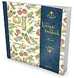 """GOCKLER® Leeres Kochbuch: Ein Rezeptbuch zum Selbstgestalten / Selberschreiben • Für 100 Lieblingsrezepte, mit Register uvm. • DesignArt """"Vegetarisch"""" • Softcover, ca. 21 x 21 cm"""