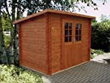 28 mm Gartenhaus Kris ca. 290x200 cm (unbehandelt)