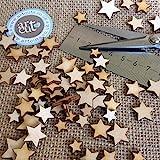 Artcuts Mini Mixed Wooden Stars Embellishments for Craft