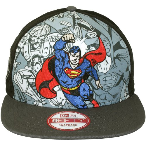 New Era x DC Comics - Casquette Snapback Homme Superman 9Fifty Hero Break Out