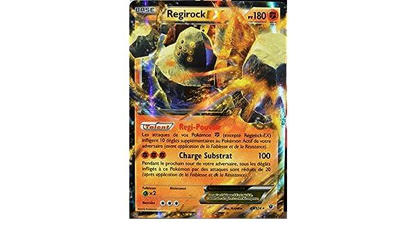Regirock Ex 180pv 43//124 XY Impact des Destins Carte Pokemon Ultra Rare neuve fr