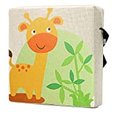 Zicac Baby Sitzerhöhung Boostersitz Sitz pad für Kinder 33x33x7cm/13x13x2.8in (Beige C)