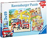 Ravensburger 09401 - Feuerwehreinsatz
