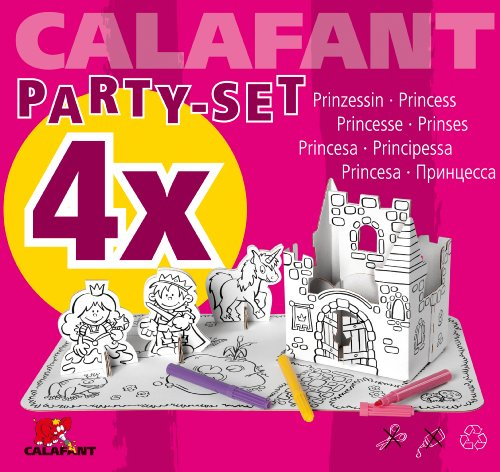 CALAFANT - 4x Kindergeburtstagsset