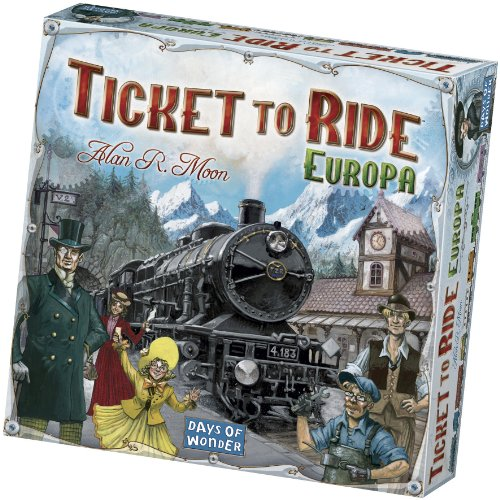 Asterion 8500 - Ticket To Ride Europa, Edizione Italiana
