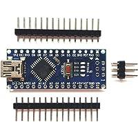 Robocraze Nano V3.0 Development Board compatible with Arduino   Nano V3 Board with Pin Connector