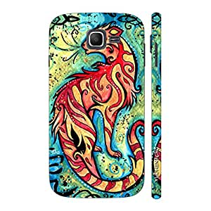 Enthopia Designer Hardshell Case Chinese Zodiac Tiger Back Cover for Samsung Galaxy J1 Mini