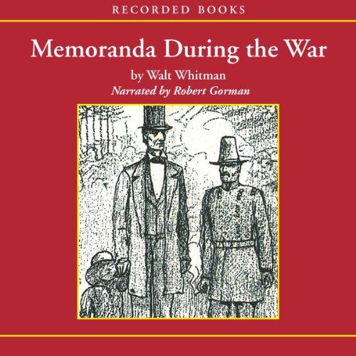 Memoranda During the War  Audiolibri