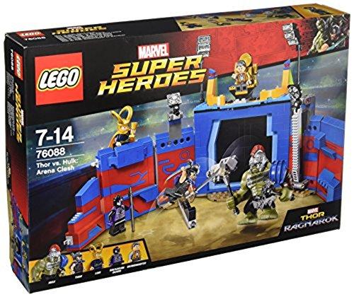 LEGO Super Heroes 76088 - Thor gegen Hulk in der Arena (Lego Super Heroes-thor)