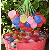HK Balloons Holi Water Balloons (Multicolour, 3 Packs, 111 Balloons Pieces in Total)
