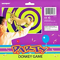 Pin The Tail On The Donkey Game for 16 Players