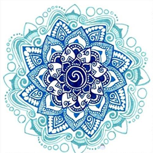 Artistic9 DIY Mandala Diamond Painting, 5D Bordado Pinturas Rhinestone Pasado Diamante Pintura de Punto de Cruz, A, 25 x 25 cm