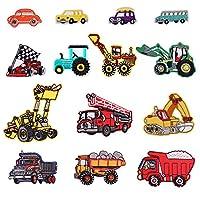 14 toppe a forma di vari tipi di veicoli.