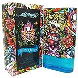 Ed Hardy Hearts & Daggers Men, Eau de Toilette, 100 ml, 1er Pack (1 x 100 ml)