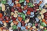 Schoko-Steine, aus Vollmilchschokolade, 30% Kakao, Kieselsteine zum Naschen, 250g-Becher
