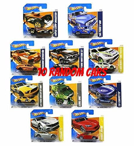 Hot Wheels Set of ten random Hot Wheels cars