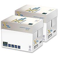 Primus Extra White Copy 75gr Carta A4 per fotocopiatrici e stampanti 75gr/mq, Formato A4, confezione da 10 Risme