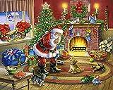 Santa e i Cani Puzzle 1000 Pezzi