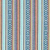 Fabulous Fabrics Baumwollstoff Jacquard Ikat Ethno