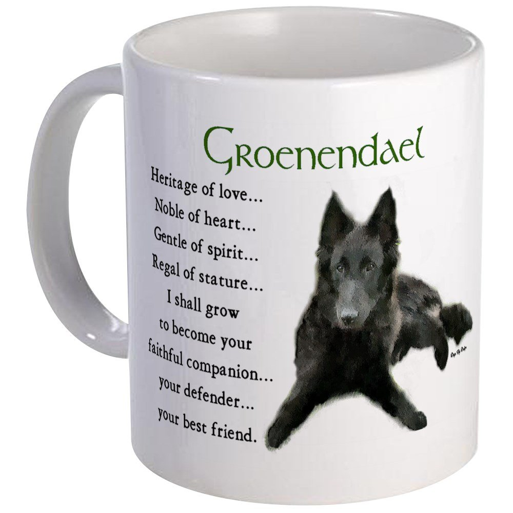 CafePress – Groenendael Belgian Sheepdog Mug – Unique Coffee Mug, Coffee Cup, Tea Cup