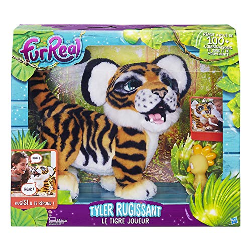 Furreal Friends – Tyler Le Tigre Joueur – Peluche Interactive