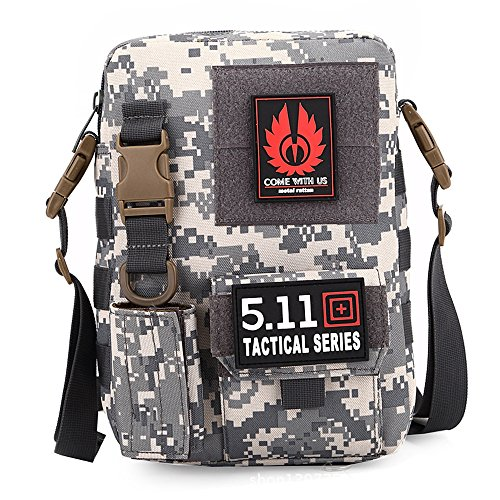 e-jiaen Sporttasche Schultertasche für Outdoor Casual Reise Wandern Camping C5