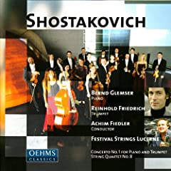 Concerto No. 1 for Piano, String Orchestra and Trumpet in C Minor, Op. 35: II. Lento