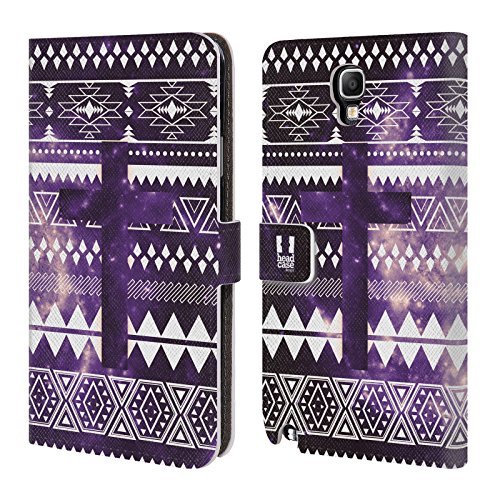 Official One Direction 1D Aztec Cross Nebula Tribal Patterns Leather Book Wallet Case Cover for Samsung Galaxy Note 3 Neo