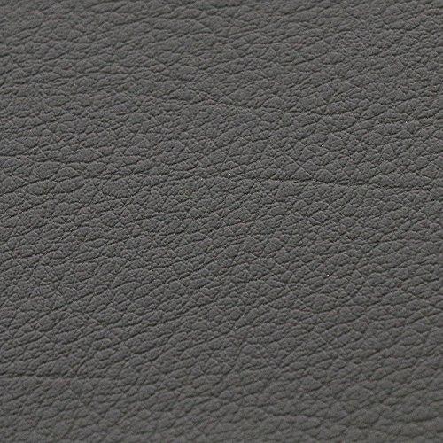 animal-design Kunst-Leder Restposten - 140 cm Breit - Farbe weiß, Mittel-Grau, Dunkel-Grau, Schwarz, Braun, Farbe:Mittelgrau Kunstleder