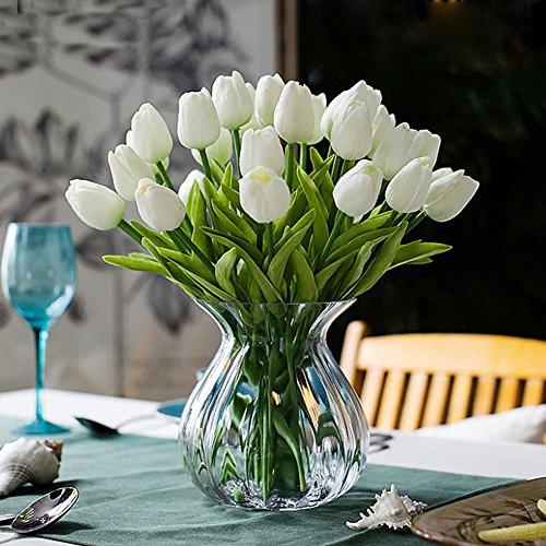 Einzelstamm künstliche Tulpen Flora Anordnung Blumenstrauß- und Haus Dekoration