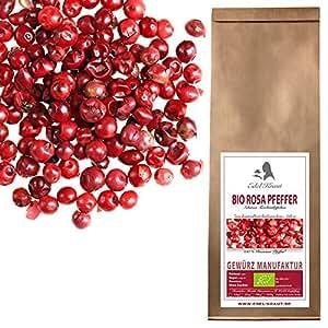EDEL KRAUT   BIO ROSA PFEFFER Premium Roter Pfeffer - pink peppercorns 100g